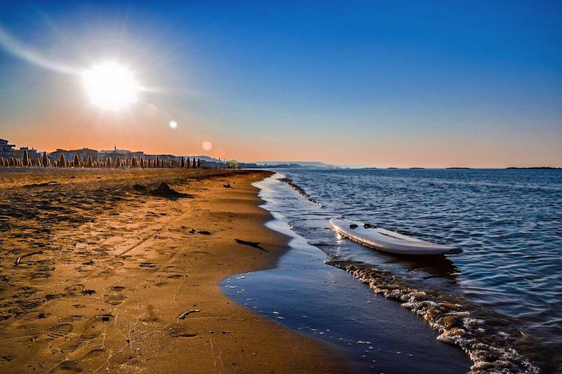 Summer sea Abruzzo beach