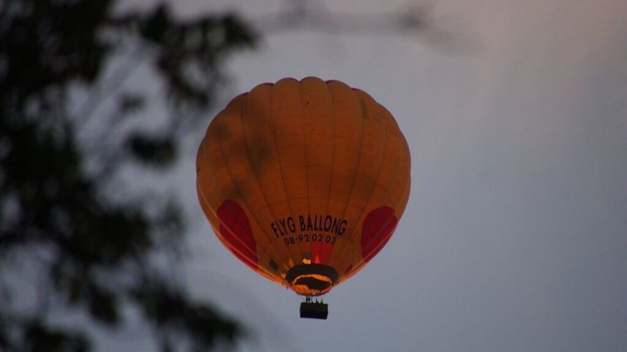 Air-balloon Hello World Evening Evening Sky Light