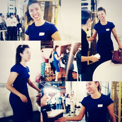 WomeninBusiness Woman In A Conference Conference Networking Young Women Young Woman Smiling Coffee Break Coffee Time