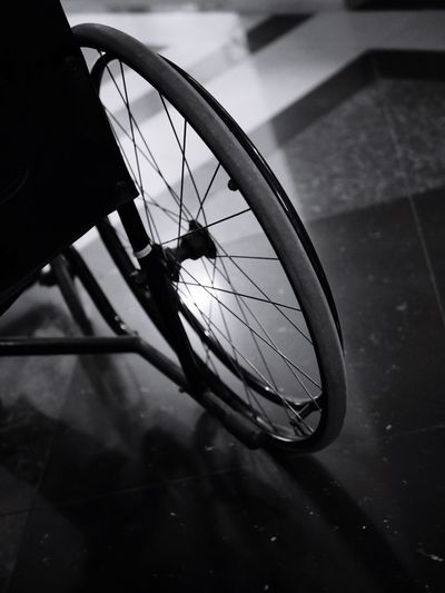 Wheel Chair Welcome To Black Wheel One Person Close-up Outdoors Pedal Camera Work Camera - Photographic Equipment Looking At Camera Real People Welcome To Black