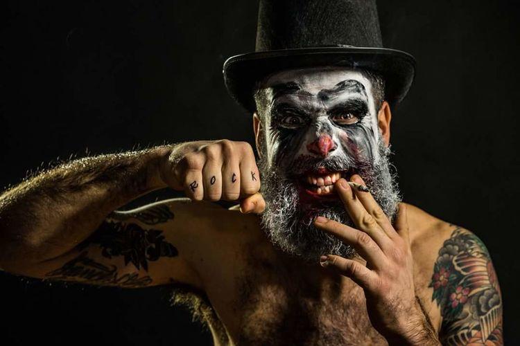 The Portraitist - 2016 EyeEm Awards Clown Ritratto Trucco Sonyalpha Sonyaward Sonyimages Rock RockandRoll