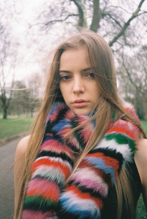 35mm 35mm Film Analogue Photography Beauty Close-up Editorial  Fashion Fashion Editorial Fashion Photography Film Photography Filmisnotdead Fur Headshot Long Hair Model Nature Outdoors Portrait