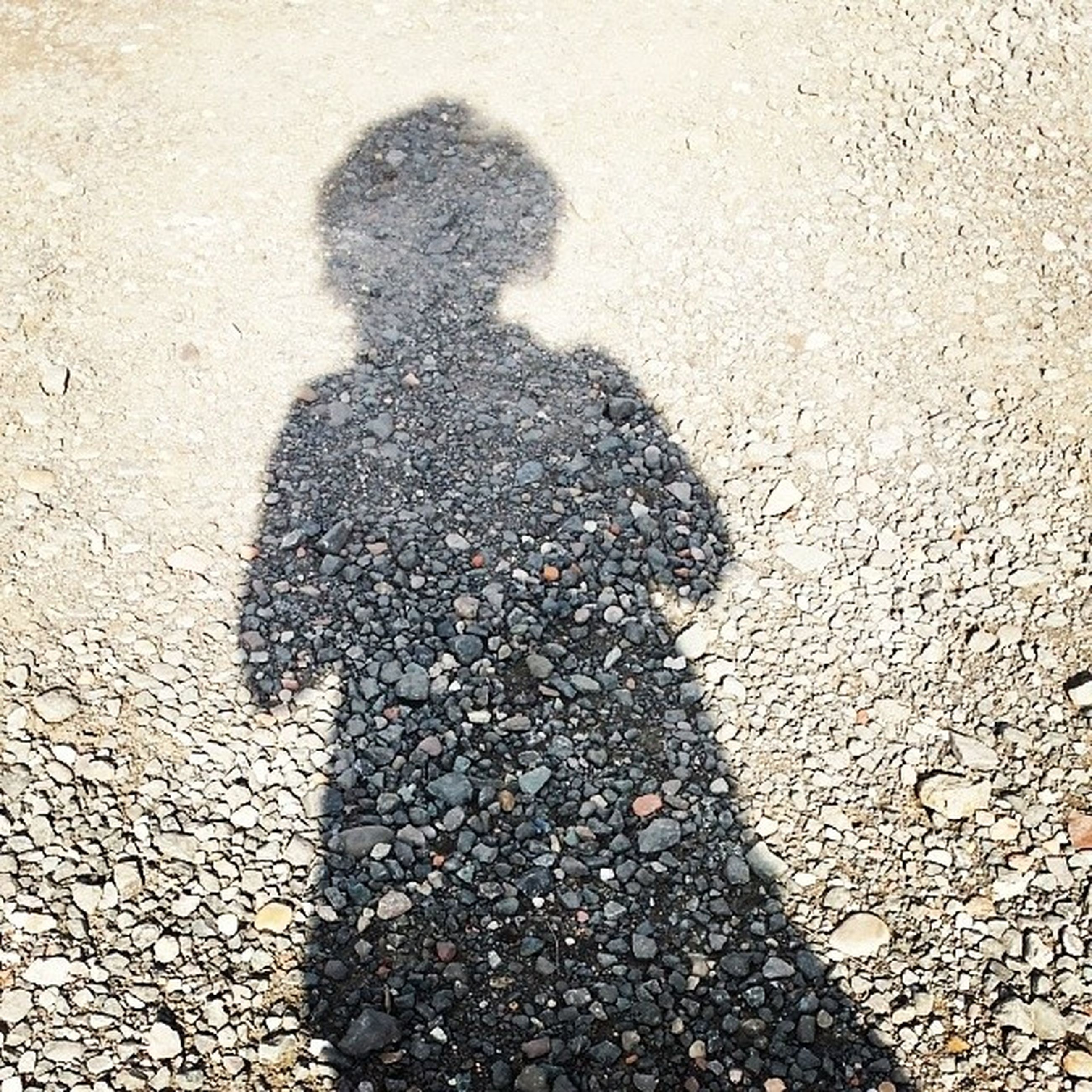 shadow, high angle view, focus on shadow, street, lifestyles, sunlight, leisure activity, unrecognizable person, men, outdoors, standing, day, silhouette, ground, road, asphalt, sidewalk, walking