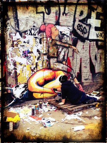 Voir les choses en grand ! Streetphotography Street Art Painting NEM Street