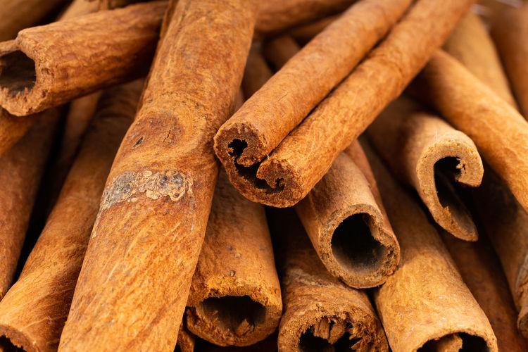 Full frame shot of cinnamon