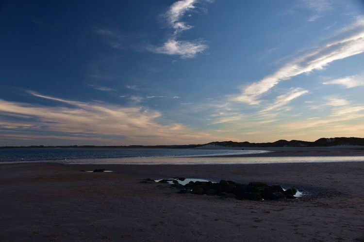 Last few of Sunset at Beadnell I promise. Sky Water Cloud - Sky Beach Land Scenics - Nature Beauty In Nature Tranquility Tranquil Scene Nature Sunset No People Outdoors Non-urban Scene Blue Sky Sunlight Sunset_collection Sea Seascape Seaside Seashore Sky And Clouds Coastline Coast Coastal Feature Calmness Peace Peaceful Northumberland Northumberland Coastline Beadnell