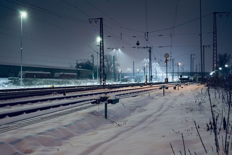 Schnee auf