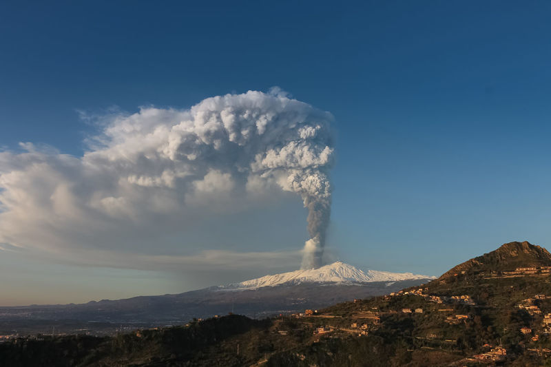 Mountain Smoke - Physical Structure Volcano Sky Environment Geology Scenics - Nature Beauty In Nature Erupting Landscape Non-urban Scene Physical Geography No People Cloud - Sky Power In Nature Active Volcano Emitting Nature Land Day Volcanic Crater Outdoors Pollution Air Pollution Formation