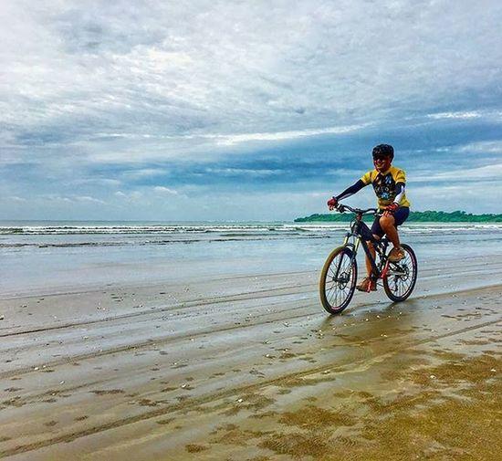 life is just like cycling keeps balance and enjoy the ride Sefo  tour de ug