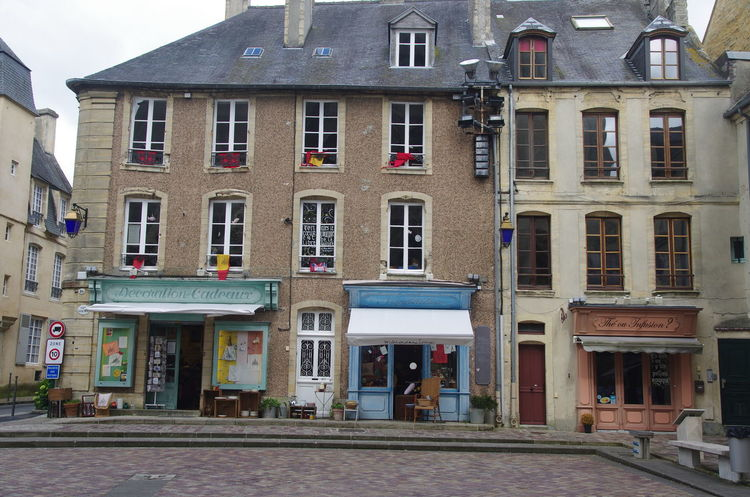 France Frankreich ♥ Geschäfte Normandie Architecture Building Exterior Built Structure City Day No People Normandy Outdoors Window