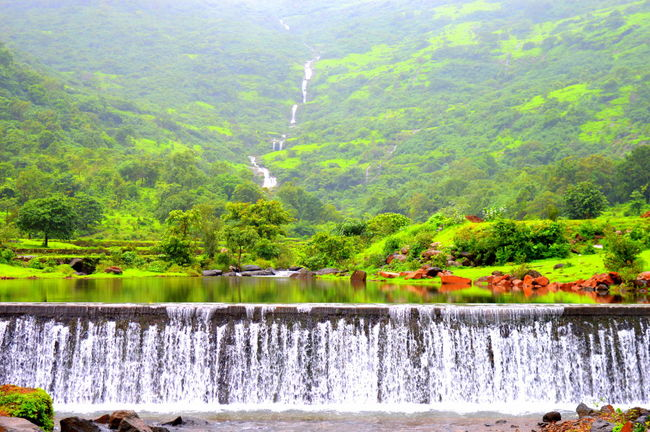 Beauty In Nature Waterfall Tranquil Scene