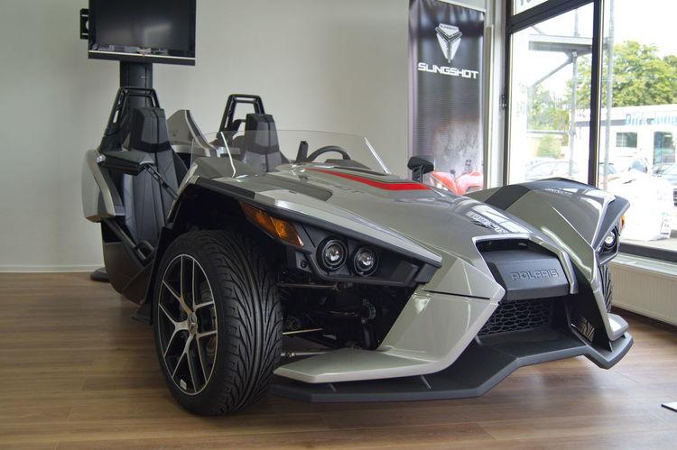 Car Indoors  Mode Of Transport Racecar Slingshot Store Technology Transportation White