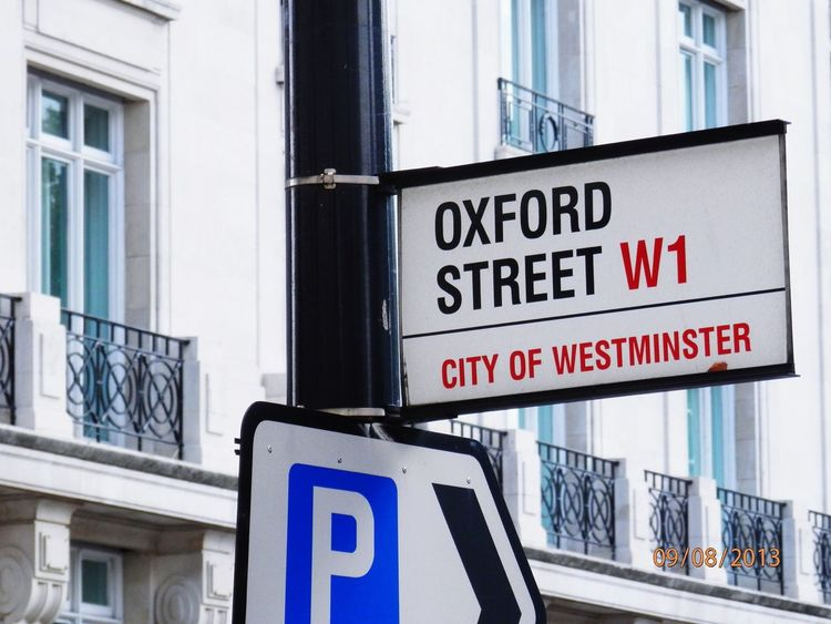 We've been there last year. Oxford street, it was quite amzing to see! City Of London London Westminster Oxford Street