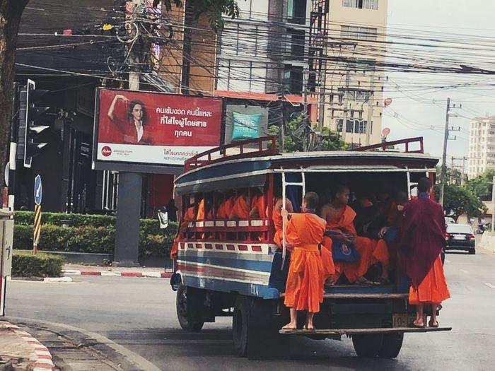 A monks come