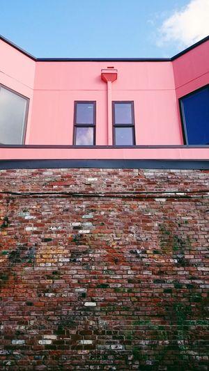 Brick Wall Brick Urban Geometry Urban Textures Buildings & Sky Buildings Simplicity Simple Photography Symmetry Portland North Portland My Neighborhood