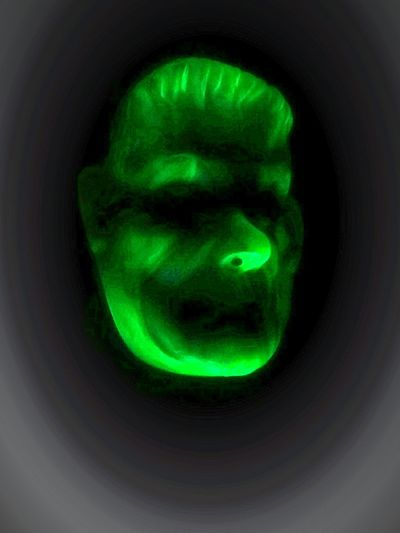 Green Color Close-up Halloween2016 Halloween_Collection Halloween Halloween Horrors Lights And Reflections Light And Reflection Photos By Jeanette Frankestein Franke