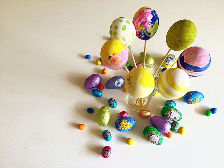 Happy Easter Everyone Easter Easter Ready Easter Eggs Easter Sunday Easteregg Eastersunday Egg Chocolate Eastereggs Colours Color Colors Coloursplash