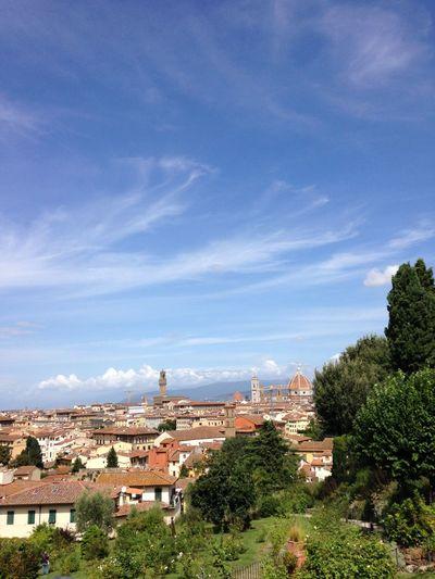 Firenze vista dal giardino
