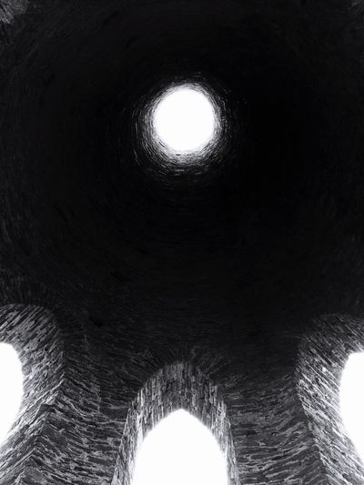 Looking up Tunnel Built Structure Architecture Low Angle View Futuristic Close-up Travel Destinations Rural Scene Landscape Landmark Coastline Dartmouth Kingswear Brixham  Field South Devon Torquay History Lookingup