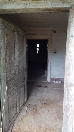 Abandoned Bad Condition Door Entrance House Old Ruined Sad & Lonely