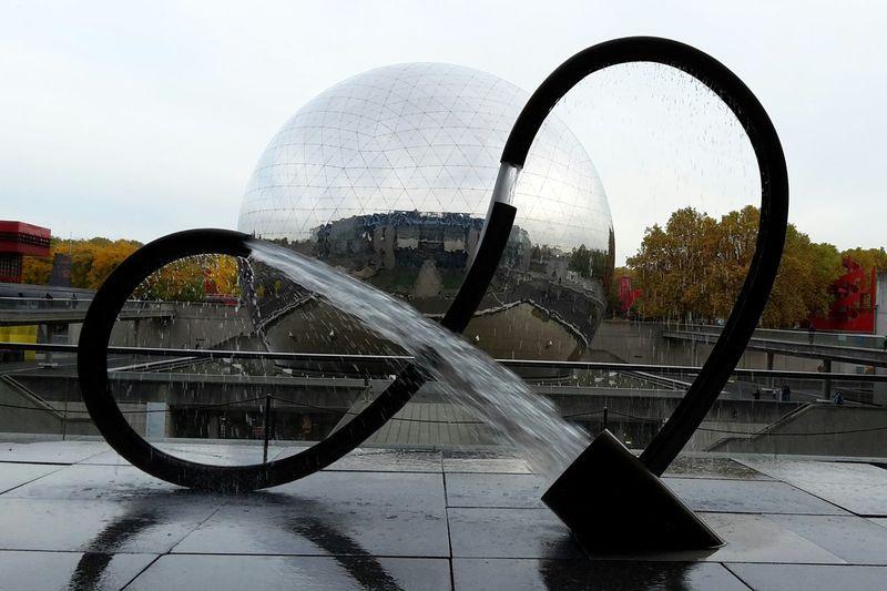 Water Fountain La Villette