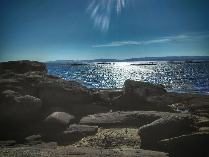 Sea Horizon Over Water Nature Beach Scenics Beauty In Nature Sky Water Astrology Sign Outdoors Astronomy No People Day Clear Sky Lumicar Tourism Leisure Activity Photooftheday Live For The Story