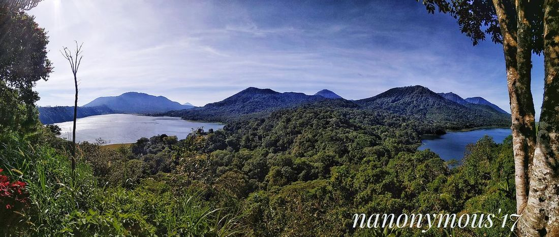 Danau Kembar Bali Mountain Landscape Nature Beauty In Nature Bali, Indonesia Baliphotography