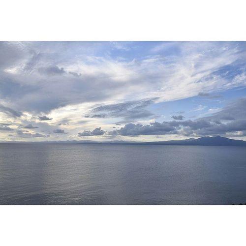 陸奥湾 風景 海 下北半島