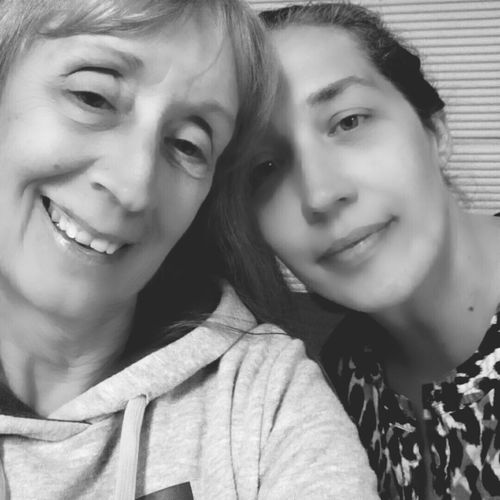 We Are Family Mom And Daughter I Love My Mom My Best Buddy Monochrome Series Black And White Photography Moms Love No Makeup All Natural