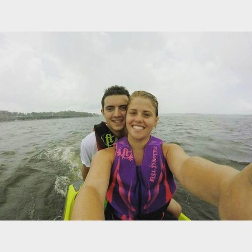 Just found these pictures on my Gopro from June 13-15 when @z_anderson19 came to the Lakeoftheozarks with me and we spent and amazing weekend sleeping on my uncles boat, sitting in the Missouri sun, sipping and swimming at the bar inside the pool, and going Jetskiing all for his first time. We had such a fun time so here's to good times, love you ♡ ManCrushMonday 1 week till preseason= 1 week till we spend our senior year together CSC