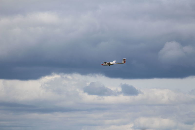 Flying Sky Cloud - Sky Airplane Airshow Day Transportation Air Vehicle Mid-air Outdoors No People Nature Military Aerobatics Fighter Plane Planeur