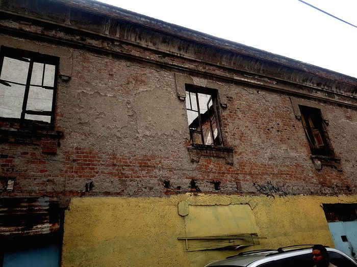 La Romita Window Close-up Architecture Sky Deterioration Abandoned Bad Condition Ruined Old Ruin