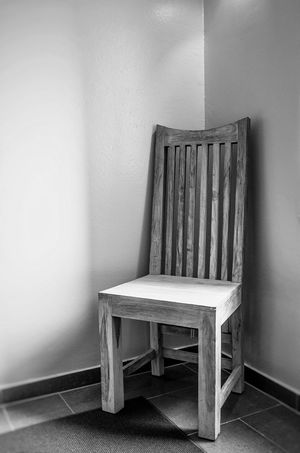 Minimalism Black And White Photography of a Chair Minimalist Minimalism_bw Minimalistic Being Minimalistic Black & White Black And White Monochrome Fine Art Photography