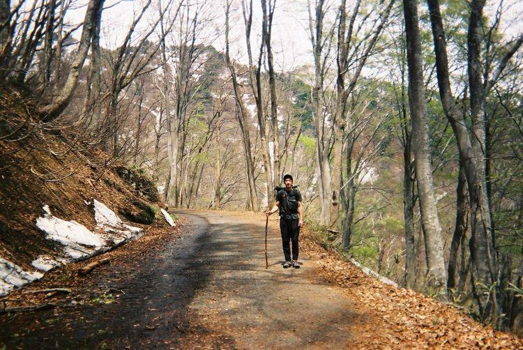 Self Portrait Nature 35mm Mountain Film 写ルンです Landscape Hiking Japan
