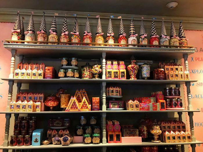 Candy Shelf For Sale Arrangement Food Variation candy sweets
