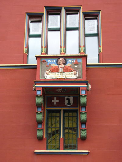Balse Century Day Faith House Indoors  Leader No People Old Pope Rathaus Red Town Hall Window