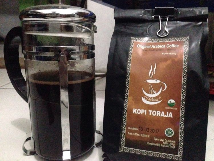 Drink coffee before you die.. Coffee Indonesiacoffee Toraja Toraja Indonesia Toraja Black Coffee Frenchpress Frenchpress Coffee DrinkCoffee