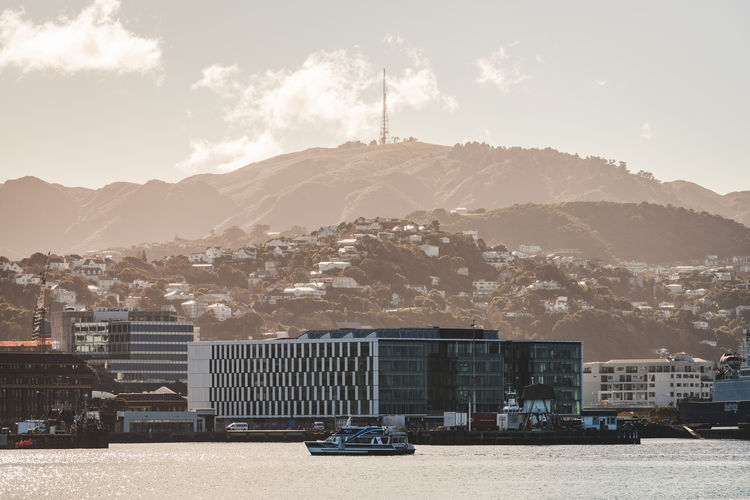 Hazy and calm Wellington City City Life Cityscape Cloud Cloudscape Cloudy Landscape_Collection Wellington  City View  cityscapes Cloud - Sky Clouds Clouds And Sky Landscape Landscape_photography New Zealand Photo Photography Photooftheday