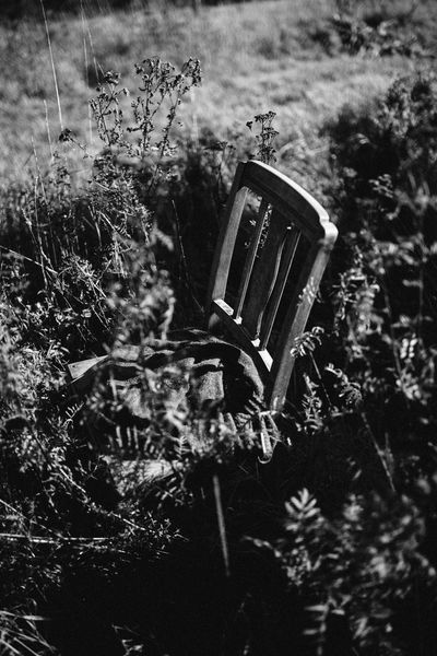lonesome chair in a field, Koblenz, Germany Chair Field Nature Wooden Chairs Black And White Photo Black And White Photography Lonely Chair Lonely Chair In A Field Lonely Chairs Mood Moody Moody Photography Nature Old Chair Old Chair In Field Old Chair In Nature Old Chairs Outdoors Plant Wooden Chair