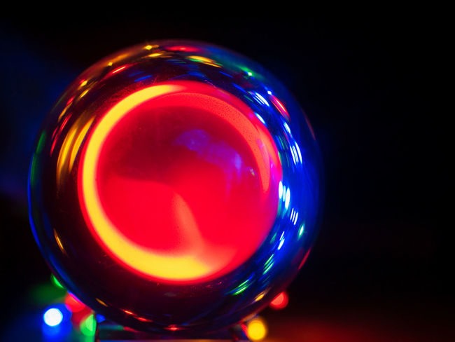 Illuminated Red Close-up Night Multi Colored No People Indoors  Glass Blue Drink Long Exposure Light - Natural Phenomenon Lighting Equipment Still Life Studio Shot Glowing Glass - Material Black Background Shape Food And Drink Abstract Nightlife Disco Lights
