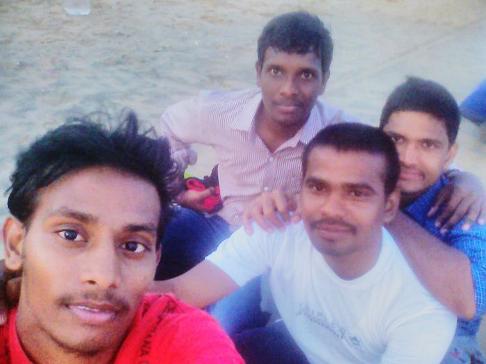 With my frnds Being A Beach Bum