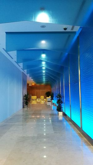 Indoors  Architecture Built Structure Illuminated No People Vertical Personal Perspective Front View Indoors  Blue Colored Photos interior designs graphics interiors