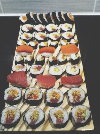 Food Selfmade Sushi Nyummy