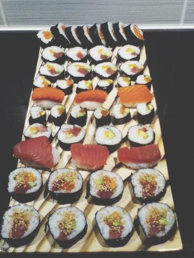 Food Selfmade Sushi Nyummy