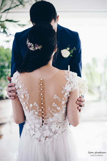 I waited for you to find my soul Portrait Wedding Photography Bride Wedding Dress Women Standing Young Women Rear View Groom Lace - Textile Henna Tattoo Lace - Fastener Life Events Traditional Ceremony Lingerie Wedding Ceremony Wedding Bridegroom Newlywed Human Back Wearing Flowers Veil Back Corset Bangle