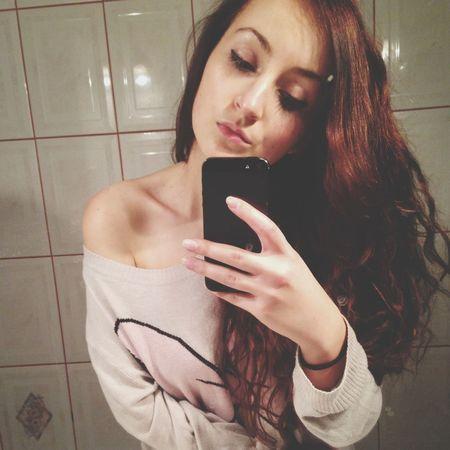 Girl Selfportrait Pokerface