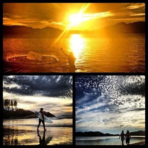 O amanhecer em Floripa é sempre maravilhoso, ainda mais sob o olhar do talentoso Gutokuerten Floripa Florianópolis SC brazil travel travelers