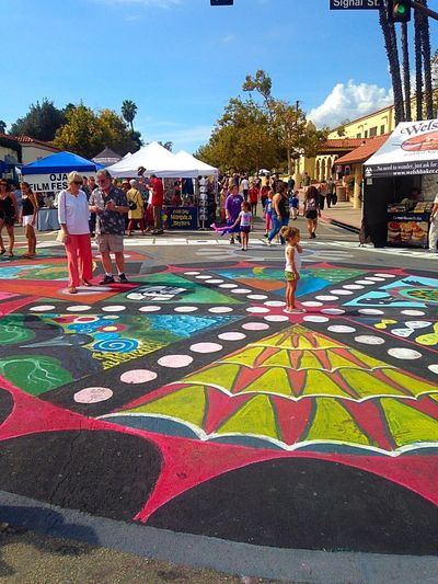 Ojai Day 2015 Ojai Community Mandala Stand Alone
