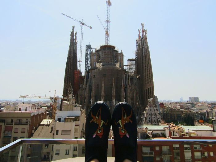 Bestshoes Disney Primark Bambi Beautifulview Hello World Legs Eye4photography  Enjoying Life Eyeemcollection Barcelona SPAIN Building And Sky Architecturephotography Buildingphotography From My Point Of View Ayre Hotel SagradadeFamilia Sagradafamiliabarcelona Lookingup Cityview Pictoftheday Two Is Better Than One Pictures Of Catalonia Out Of The Box