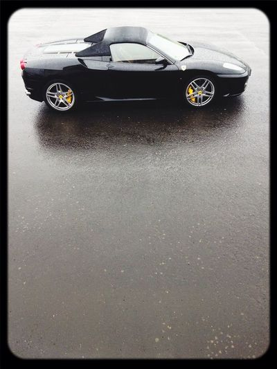 Luxury Car Ferrari F430 Driving